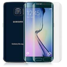 HD Clear Curved Screen Protector + Rear Tempered Glass For Samsung S6 Edge+ Plus