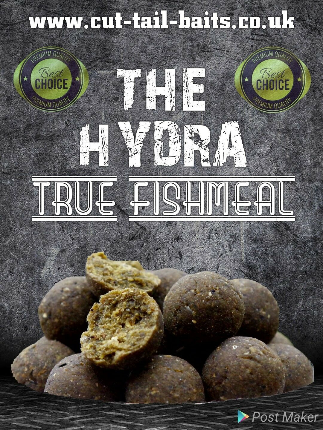 10kg Cut Tail Baits HYDRA boilies H.N.V 14mm Carp Fishing boilie freezer bait