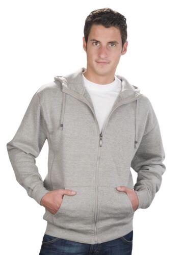 Sweatjacke mit Kapuze Hoodie Qualityshirts Gr S 6XL