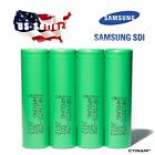 Vape Batteries 4 PCS SAMSUNG INR 18650 25R 2500mAh 20A 3.7v Li-ion *Authentic*