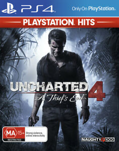 Uncharted 4 A Thiefs End PlayStation Hits PS4 Game NEW