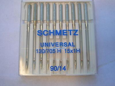 SCHMETZ EMBROIDERY SEWING MACHINE NEEDLES 90//14 FITS BERNINA//HUSQARNA//JANOME AND