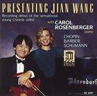 Chopin Schumann Barber Presenting Jian Wang Rosenberger CD 2005