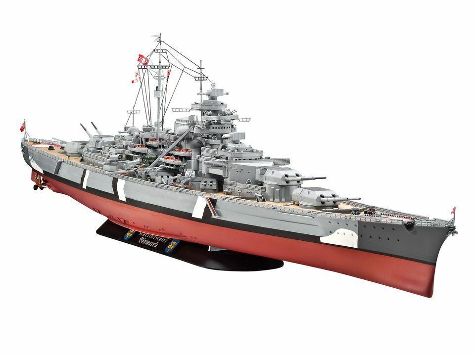 Battleship Bismarck scala 1 350- REVELL 05040