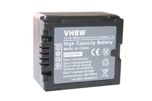 Batería CHIP PARA PANASONIC VW-VBG260 VBG-260 ACCU