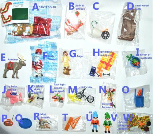 playmobil U CHOOSE new from box Christmas elf,reindeer,santa/'s sled
