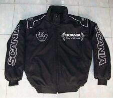 NEU SCANIA V8 King of the Road 2 Fn-Jacke schwarz jacket veste jas giacca jakka