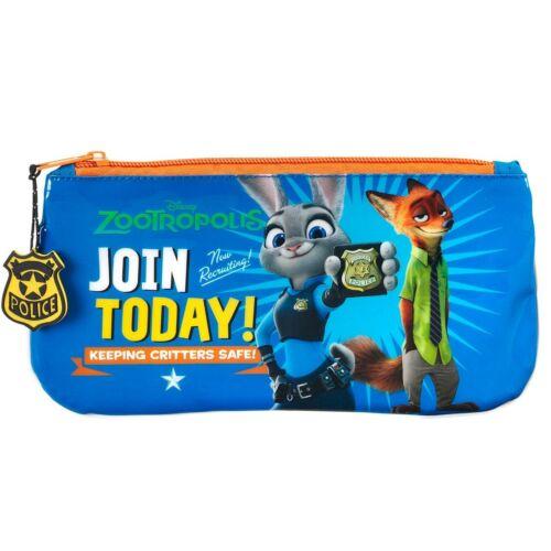 Premium Disney Zootropolis Blue Pencil Case Zootopia