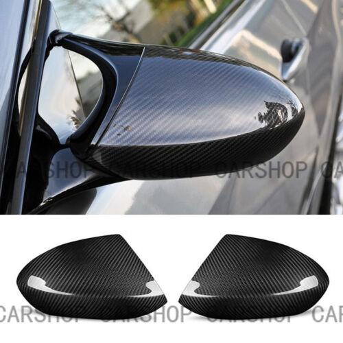 For BMW M3 E90 E92 E93 08-13 Real Carbon Fiber Car Door Side Mirror Cover Add On