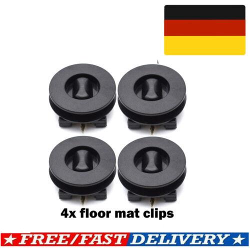 Halter Clip Automatten Befestigung Xukey Fußmatten Drehknebel oval