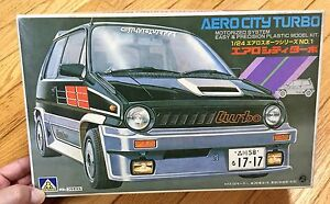 Honda Aero City Turbo 1 24 Model Kit Aoshima Ebay