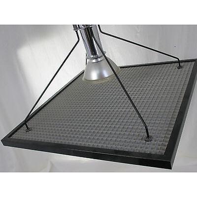 DESIGN DECKENLEUCHTE LAMPE 80er SPOT LOFT GITTER Memphis