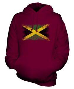 Drapeau Maillot À Unisexe Délavé Football Haut Cadeau Sweat Capuche De Jamaica P1dOqgxO