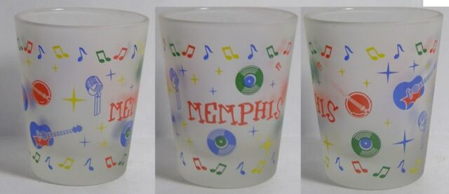 Memphis Music Attractions Shot Glass #3674