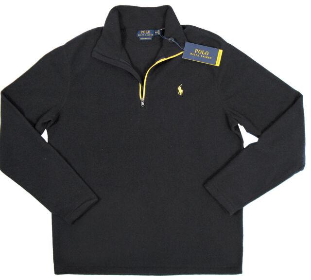b63ef95dd Polo Ralph Lauren Performance 1 4 Zip Pullover Fleece Jacket - Mens ...