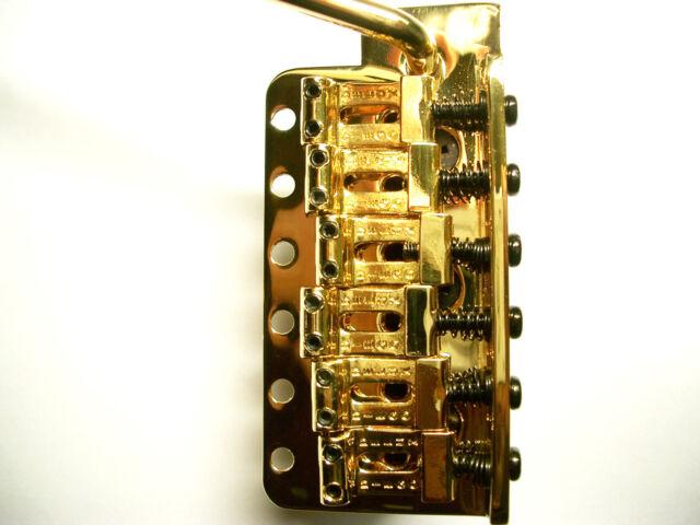 DIEGO Deluxe SC Trémolo Gold Con Acero Block