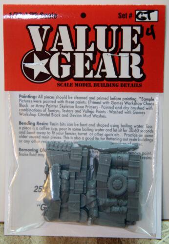 "GERMAN Truck Blobs//Loads Set /""GT4/"" 2 Pack Resin Value Gear 1//72 Scale"