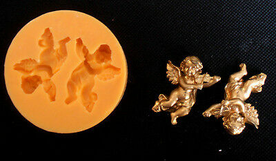 Silicone Mould CHERUB Sugarcraft Cake Decorating Fondant / fimo mold