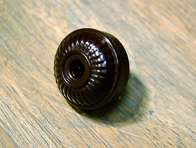 Vintage Style Electrical Plug Ribbed Design, Bakelite Replica antique fan rewire