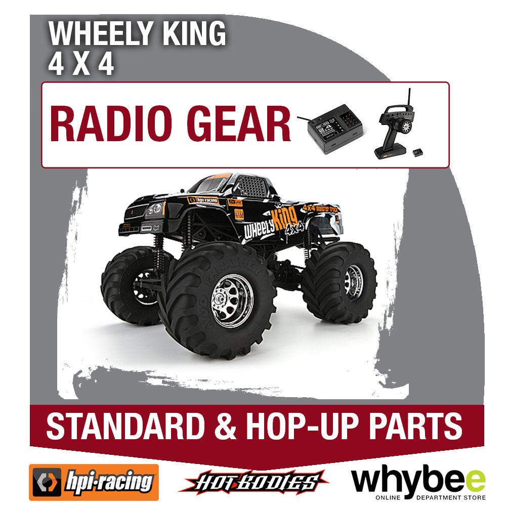 HPI WHEELY KING 4X4 [Radio Gear] Genuine HPi Racing R C Standard & Hop-Up Parts