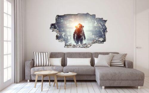 Fantasy Science Fiction Astronaut Wandtattoo Wandsticker Wandaufkleber C1958