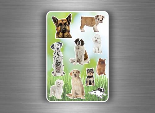 Stickers childrens animal dog decoration kids labels scrapbook card making craft