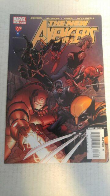 The New Avengers #16 April 2006 Marvel Comics Bendis McNiven Vines Hollowell