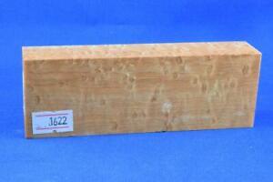 Stabilized-Birdseye-Maple-Knife-Scales-Handle-Block-Pen-1622