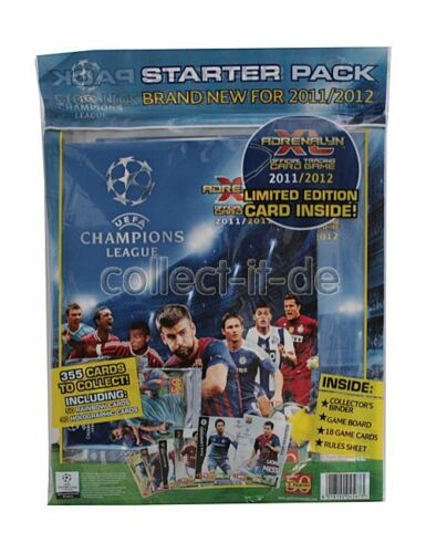 Panini Adrenalyn XL-Champions League 11//12-1 Starter pack UK//inglaterra