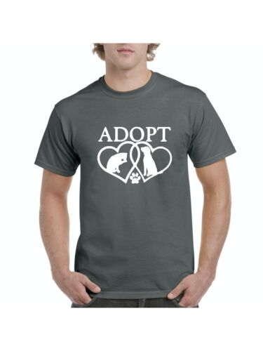 Adopt Animal Rescue Gifts Match w Pets Dogs Decal Dog Toys Treat T-Shirt