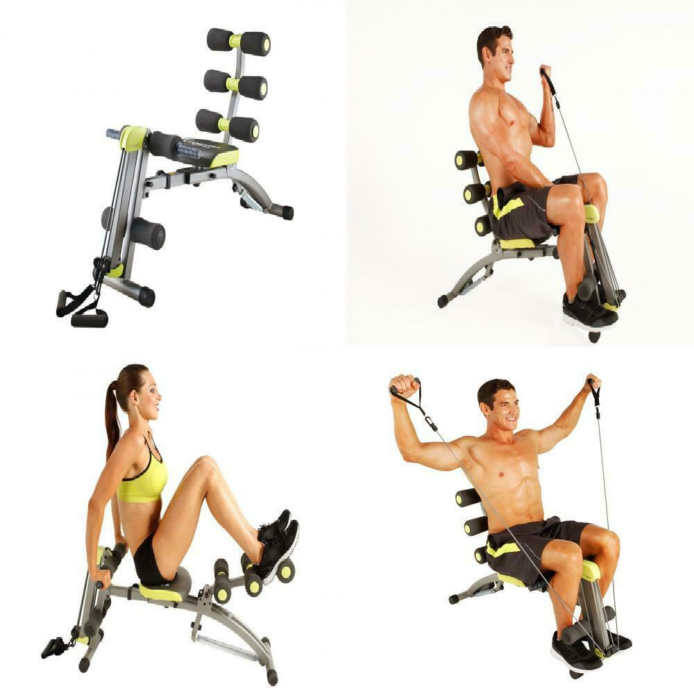 Wonder core II  Multifuncional 12 en 1 equipo de Fitness   Sit-up..