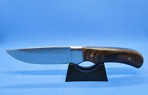 Rite Edge Rosewood Full Tang Fixed Blade Hunter Skinner Survival Knife Brand New