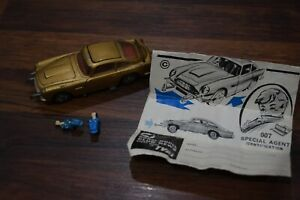 Vintage Corgi 261 James Bond 007 Db5 Avec 2 Baddies Et Instructions Matt