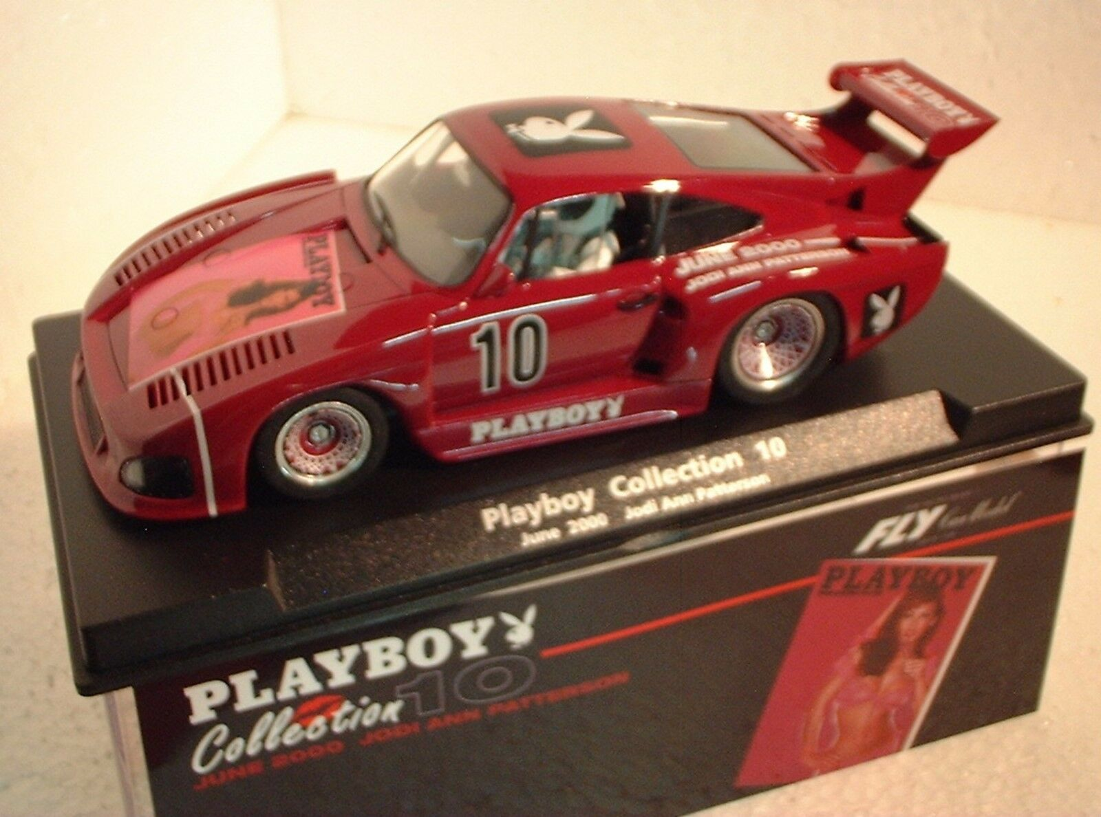 Qq 99059 FLY PORSCHE 935 K3 PLAYBOY COLLECTION 10 GIUGNO 2000 JODI ANN PATTERSON