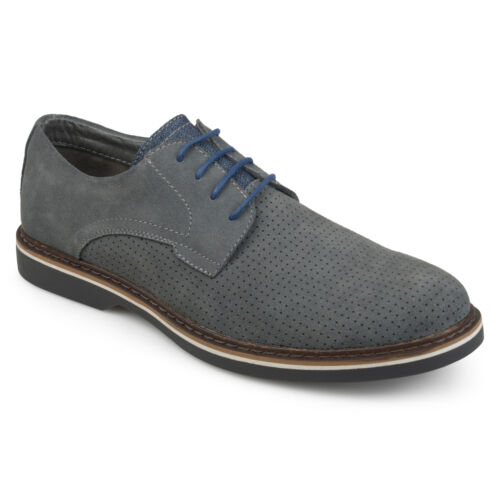 Daxx Mens Kash Lace up Genuine Suede Dress Shoes New