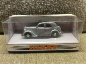 FORD-V8-PILOT-E71A-SALOON-SILVER-BLACK-INTERIOR-1-43-MATCHBOX-DINKY-VGC-BOXED