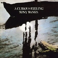 TONY BANKS - A CURIOUS FEELING  CD+DVD NEU