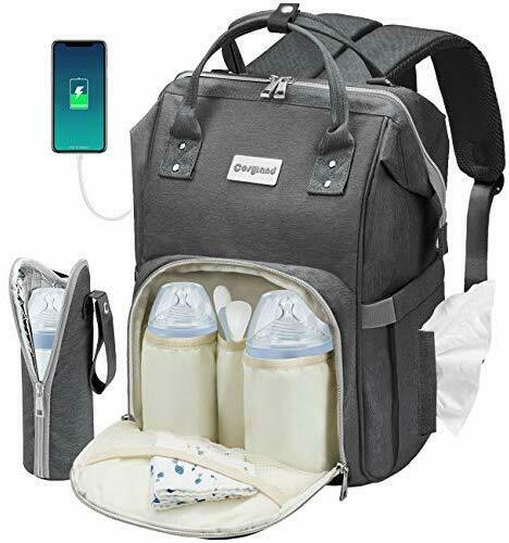 Cosyland Diaper Bag Backpack for Mom Multi-Function Travel Backpack Nappy Bags