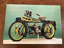 "Vtg 1919 Wooler flat Twin ""Flying Banana"" National Motorcycle Museum Postcard"