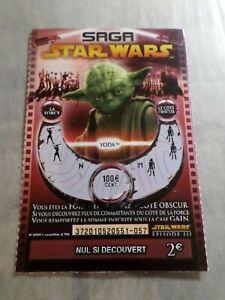 Vf French Lottery Kino Hervorragend Das Ganze System StäRken Und StäRken Ticket Schaben Saga Star Wars Yoda