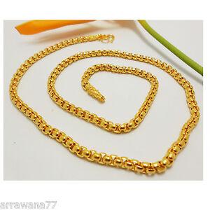 Chain 18K 22K 24K THAI BAHT YELLOW GOLD GP NECKLACE 24 53 Grams 5