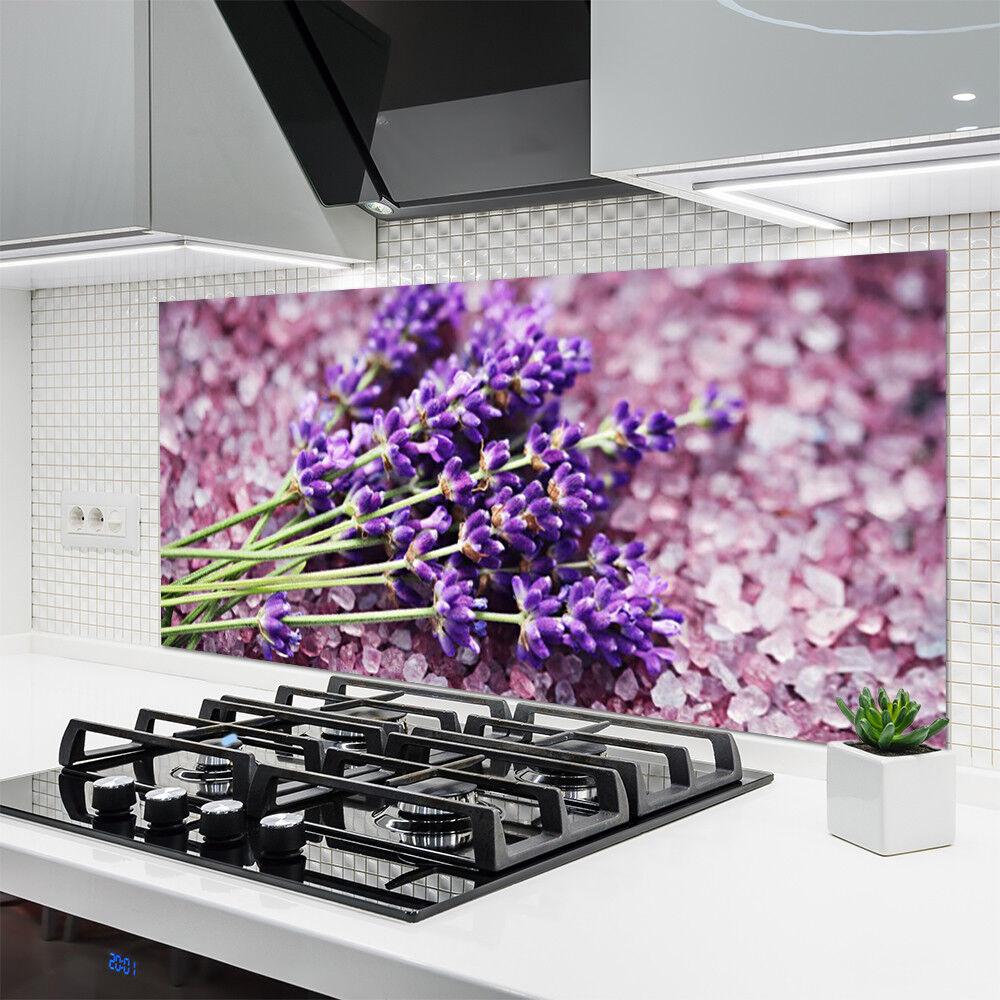 Crédence de de de cuisine en verre Panneau 140x70 Floral Fleurs 8aee76
