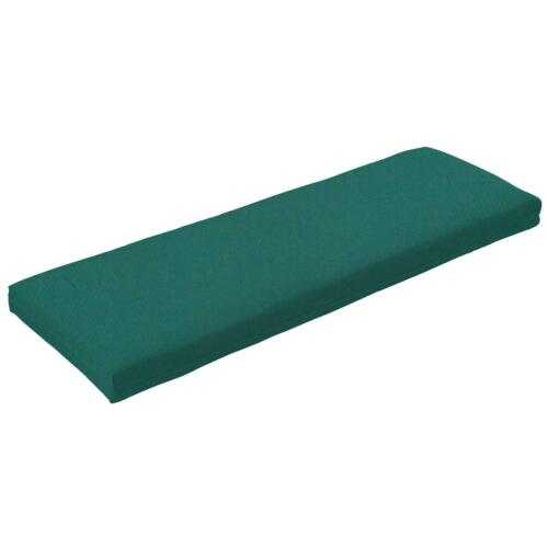 """42/"""" Sunbrella Canvas Outdoor Replacement Bench Patio Furniture Cushion 22 Colors"""