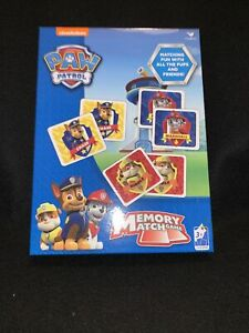 Memory Match Game PAW PATROL 72 Cards Educational Learning New