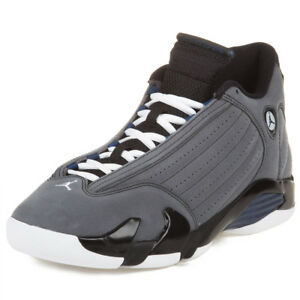 a7789d15be2f Nike Mens Air Jordan 14 Retro Light Graphite Mid Navy 311832-011 ...