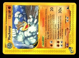 POKEMON-SKYRIDGE-RARE-ENGLISH-CARD-CARTE-N-16-144-MACHAMP-120-HP