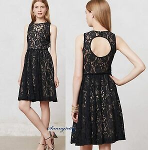 Image Is Loading New Anthropologie Eclipsing Lace Dress By Tracy Reese