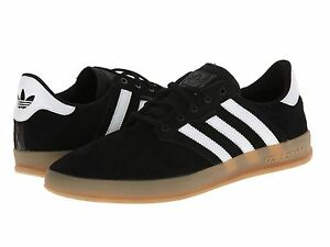 Image is loading ADIDAS-ORIGINALS-SEELEY-CUP-BLACK-WHITE-GUM-SKATEBOARDING-