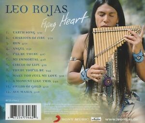 LEO-ROJAS-FLYING-HEART-CD-12-TRACKS-INTERNATIONAL-POP-NEU