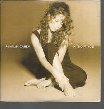 CD SINGLE 2 TITRES--MARIAH CAREY--WITHOUT YOU--1994